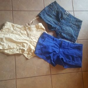Pants - 3 pairs of shorts all size 5